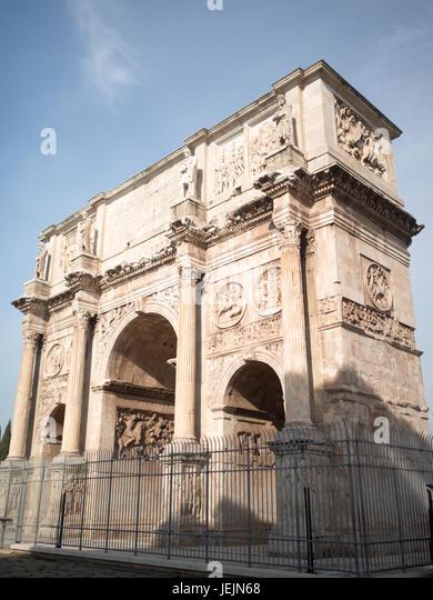 Constantine Arch, Rome - Stock Image