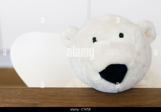 Close up of stuffed panda bear - Stock Image