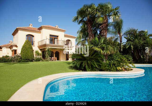 Spanish Villa Stock Photos Spanish Villa Stock Images Alamy