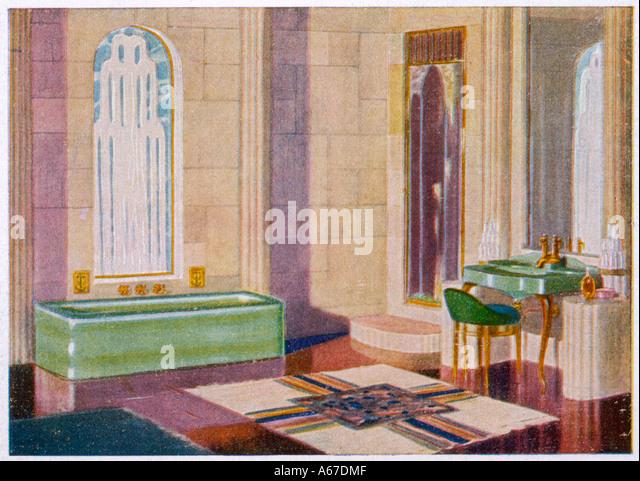 Art Deco Bathroom Stock Photos Art Deco Bathroom Stock Images
