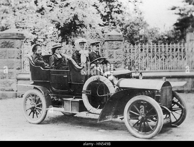 1908 Brown 20-22hp - Stock Image