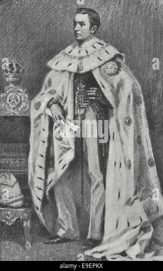 His Excellency the Right Honourable The Lord Cuzon of Kedleston, Viceroy and Governor General of India, iin his - Stock Image
