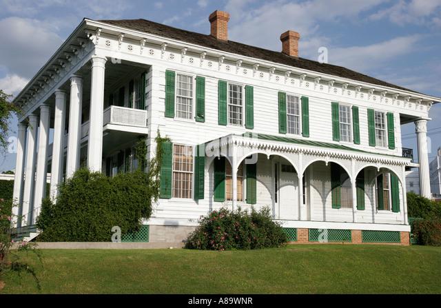Alabama Montgomery Old Alabama Town - Stock Image