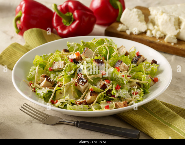 how to cut romaine lettuce for salad