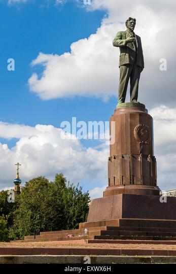 Kalinin Monument, Kaliningrad, Kaliningrad Oblast, Russia, Eurasia - Stock Image
