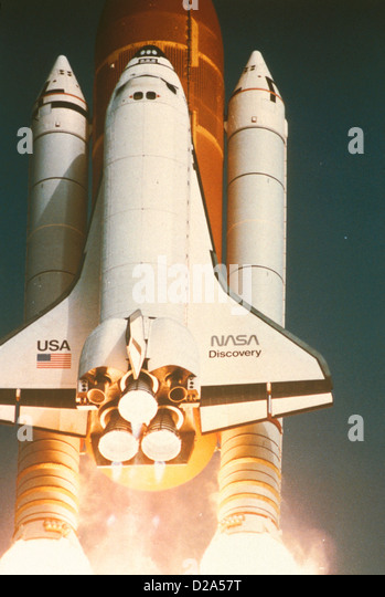 separation of booster rockets and space shuttle external tank - photo #40