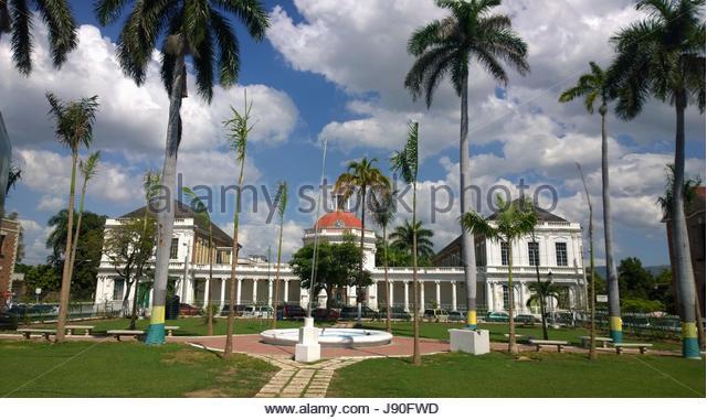 Rodney Memorial In Spanish Town District Of Kingston Jamaica - Stock-Bilder
