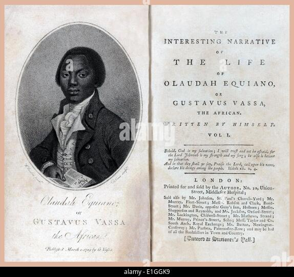 Olaudah Equiano - life on board