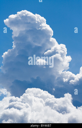 Cloud and blue sky for background - Stock-Bilder
