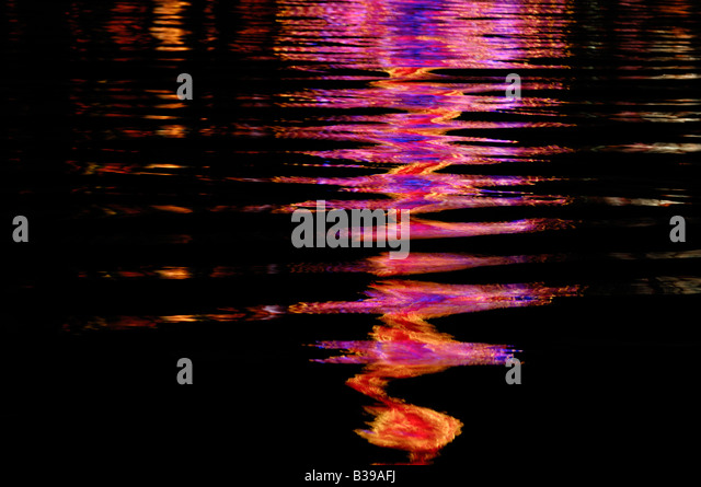 Abstract reflections - Stock Image