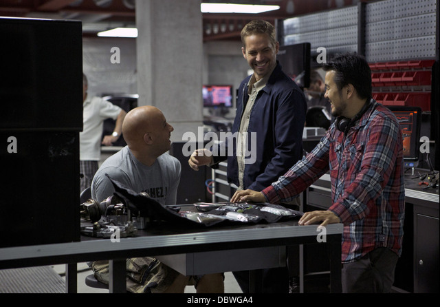 FAST AND FURIOUS 6 (2013) VIN DIESEL, PAUL WALKER, JUSTIN LIN JUSTIN LIN (DIR) 002 MOVIESTORE COLLECTION LTD - Stock Image