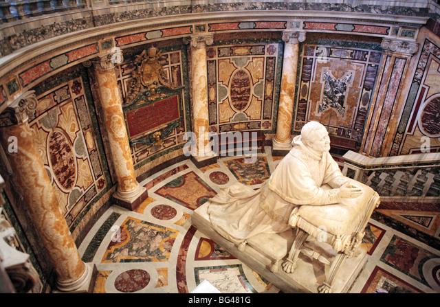Church of Santa Maria Maggiore, Rome, Italy - Stock Image