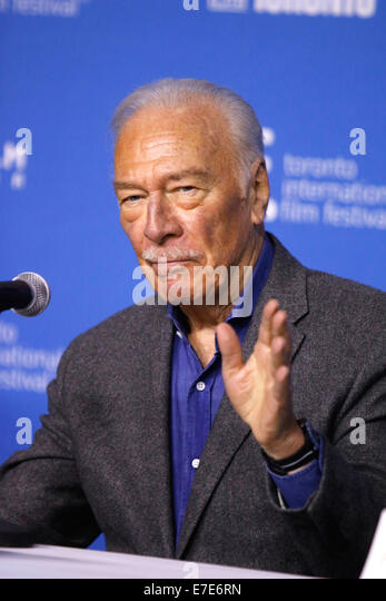 Actor Christopher Plummer Stock Photos Amp Actor Christopher