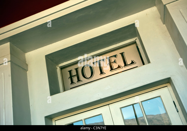 South Africa, Western Cape, Barrydale, The Barrydale Karoo Hotel. - Stock-Bilder