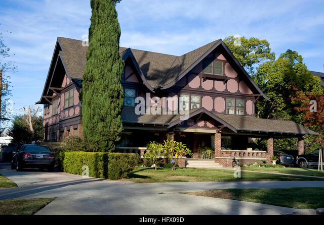 West adams stock photos west adams stock images alamy for Historical homes in los angeles