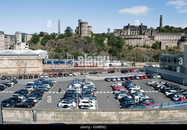 Car Park Edinburgh Jury Inn