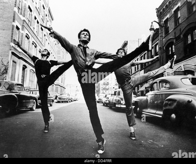WEST SIDE STORY - Geoge Chakiris - Directed by Robert Wise - Mirisch Pictures 1961 - Stock Image