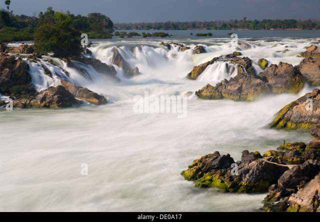 Don Det Four Thousand Islands Waterfall