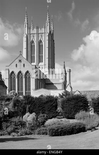 St Edmundsbury Cathedral Bury St Edmunds Suffolk - Stock Image