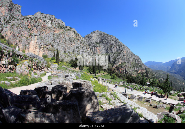 View With Mount Parnassus Stock Photos & View With Mount ...