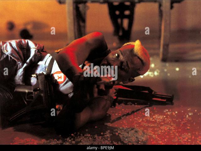 WESLEY SNIPES DEMOLITION MAN (1993) - Stock Image