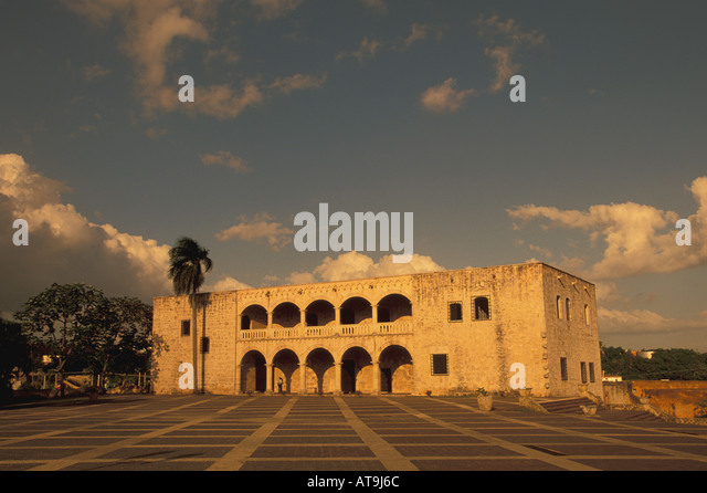 Santo Domingo Dominican Republic Alcazar de Colon - Stock Image