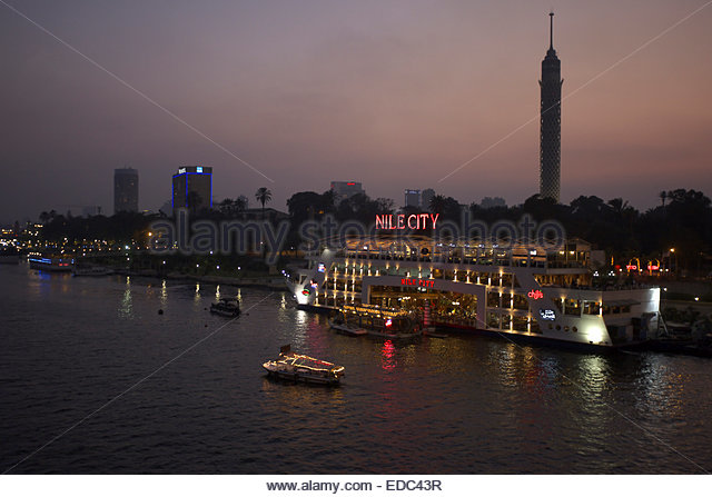 Cairo tower. - Stock Image
