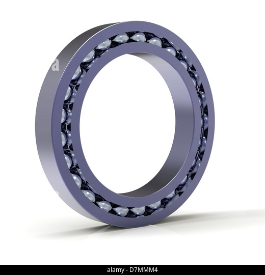 Roller bearing, artwork - Stock Image