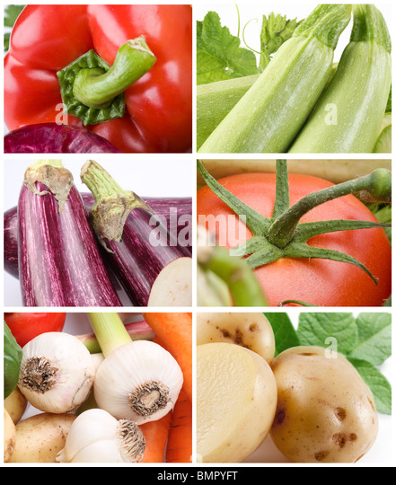Collection of vegetables - Stock Image