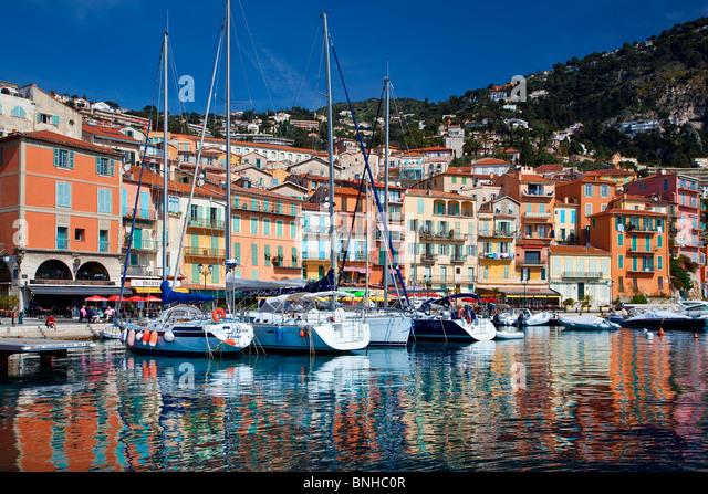 Europe, France, Alpes-Maritimes, Villefranche-sur-Mer - Stock Image
