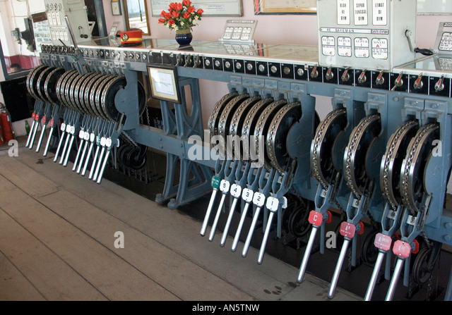 Train Control Lever : Lever switch stock photos images alamy
