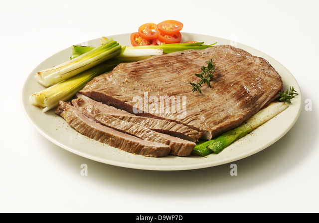 lank steak cut - Stock Image