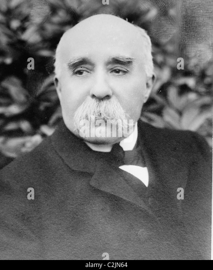 George Clemenceau - Stock Image