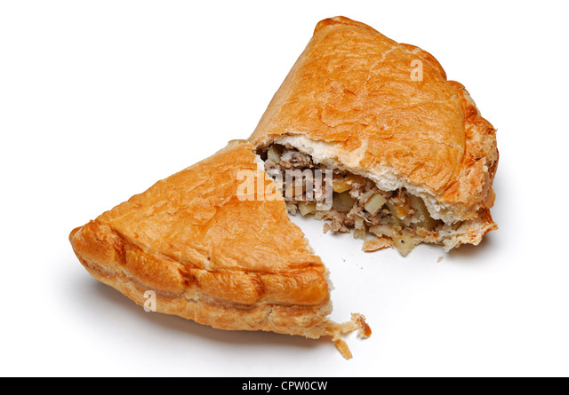 Cornish Pasty - Stock Image