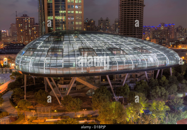 The International Cruise Terminal, Shanghai, China. - Stock Image