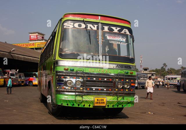 kerala buses stock photos amp kerala buses stock images alamy