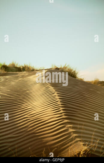 Dune Ripples in Namibia - Stock Image