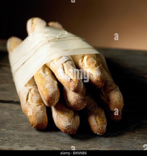 Fresh Baguettes - Stock Image