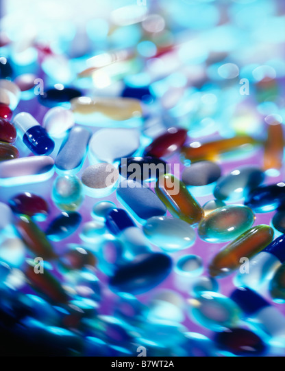 Pills - Stock Image