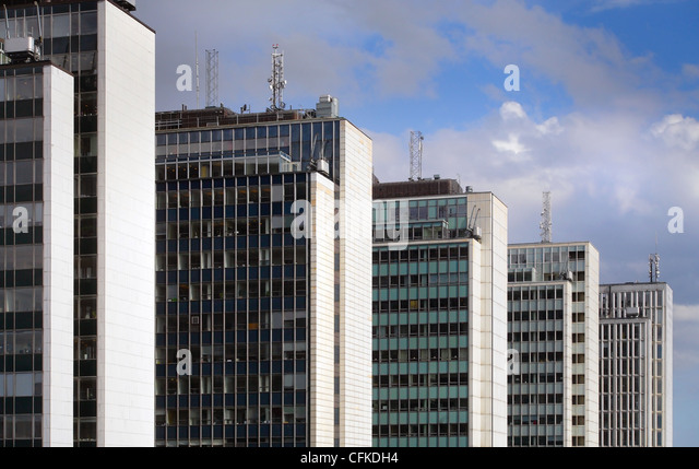 Office building, Sweden - Stock Image