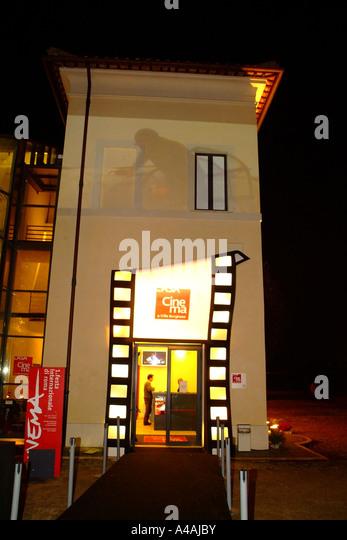 The house of the cinema Rome International Film Festival Rome Lazio Italy - Stock Image