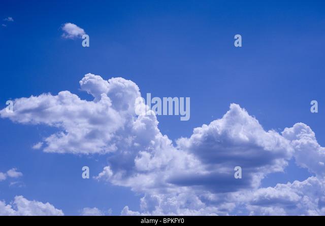 Clouds and Blue Sky - Stock-Bilder
