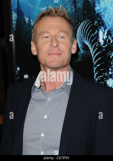 Richard Roxburgh at arrivals for SANCTUM Premiere, Grauman's Chinese Theatre, Los Angeles, CA January 31, 2011. - Stock Image