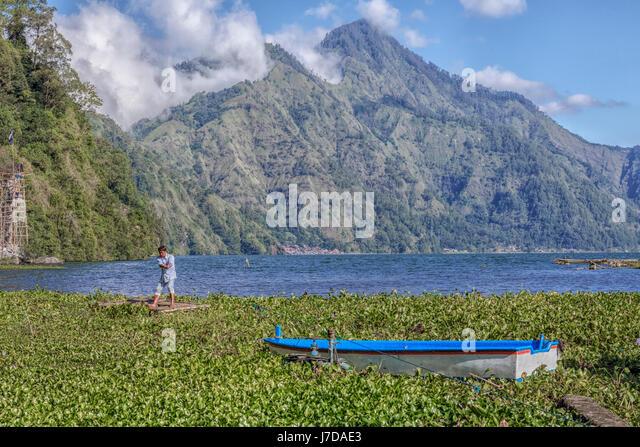 Danau Batur, Songan, Bali, Indonesia, Asia - Stock-Bilder