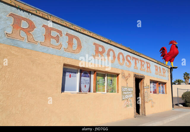 Red Rooster Bar, Overton, Nevada, USA, North America - Stock Image