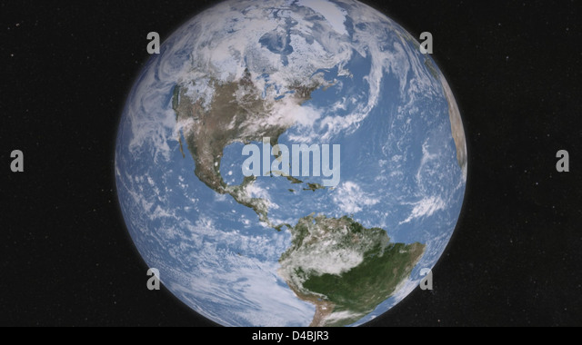 Whole Earth, Day [hd video] - Stock Image