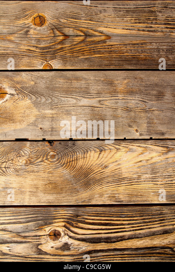 aged old pine wood grunge texture background - Stock Image