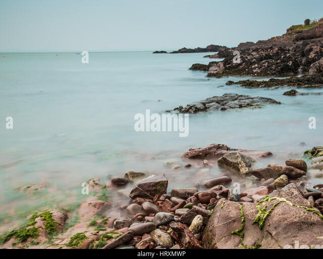 Coastlines at St.Brides, Pembrokeshire, Wales - Stock Image