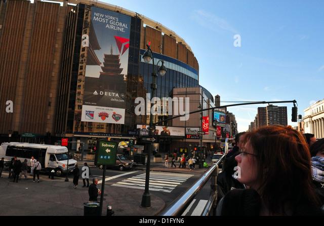 Knicks Madison Square Garden Stock Photos Knicks Madison Square Garden Stock Images Alamy