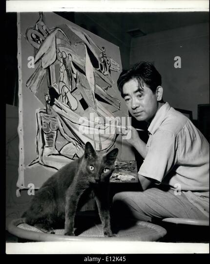 Feb. 24, 2012 - The Artistic Japanese: Record Entries For This Year's ''Art Olympics'' Record - Stock-Bilder